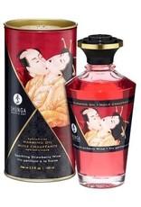 KamaSutra Shunga Kissable Massage Oil 3.5 fl Oz Strawberry Champagne