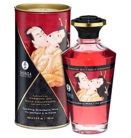 KamaSutra Shunga Kissable Massage Oil 3.5 fl Oz Strawberry Champagne