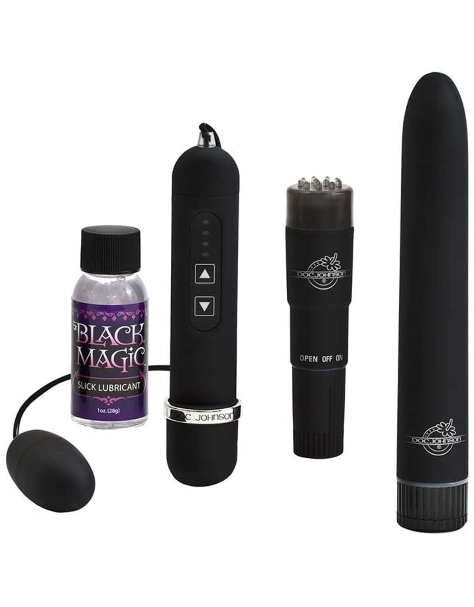 Doc Johnson Black Magic Pleasure Kit