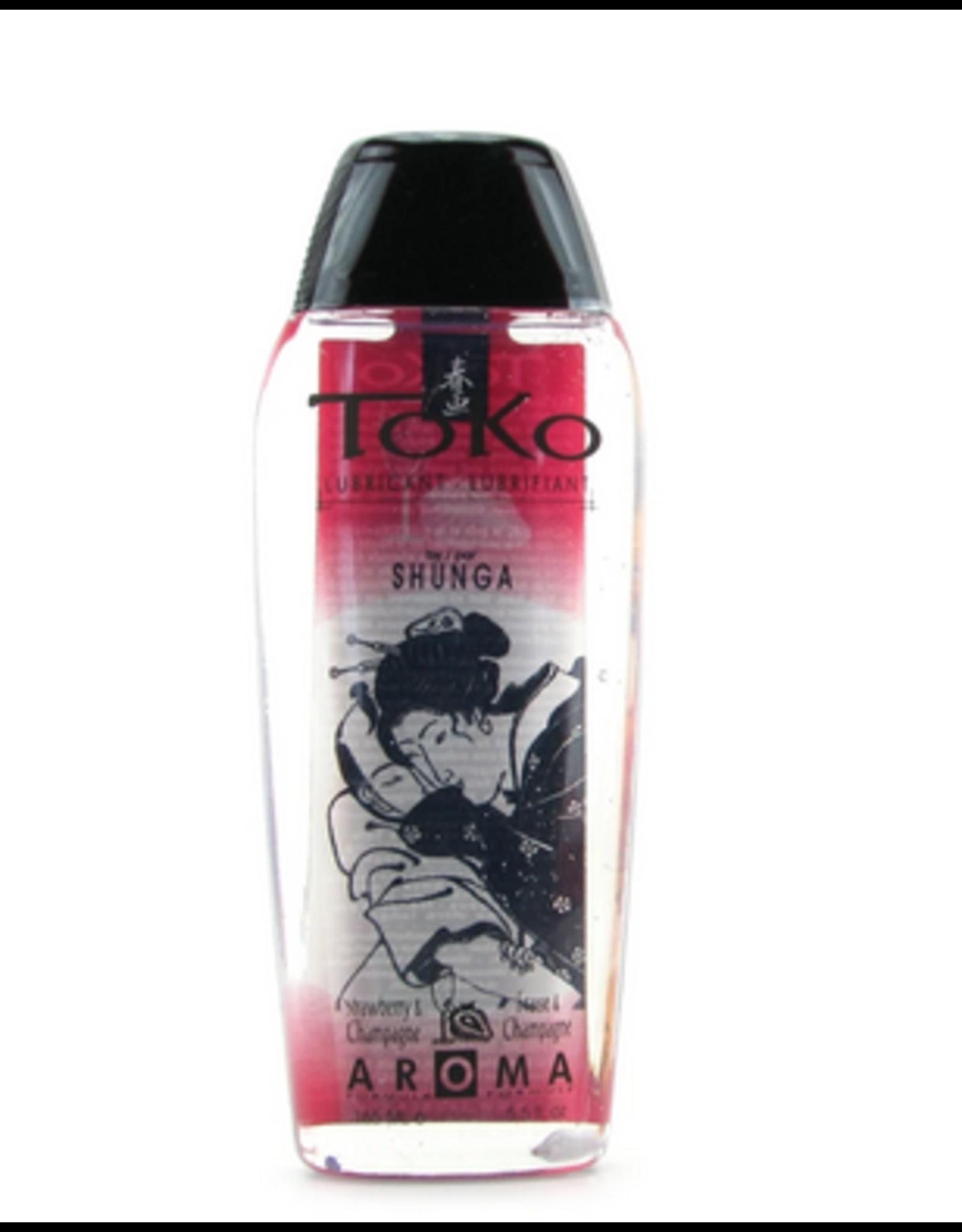 Shunga Toko Luricant Sparkling Strawberry Wine 165ml / 5.5oz