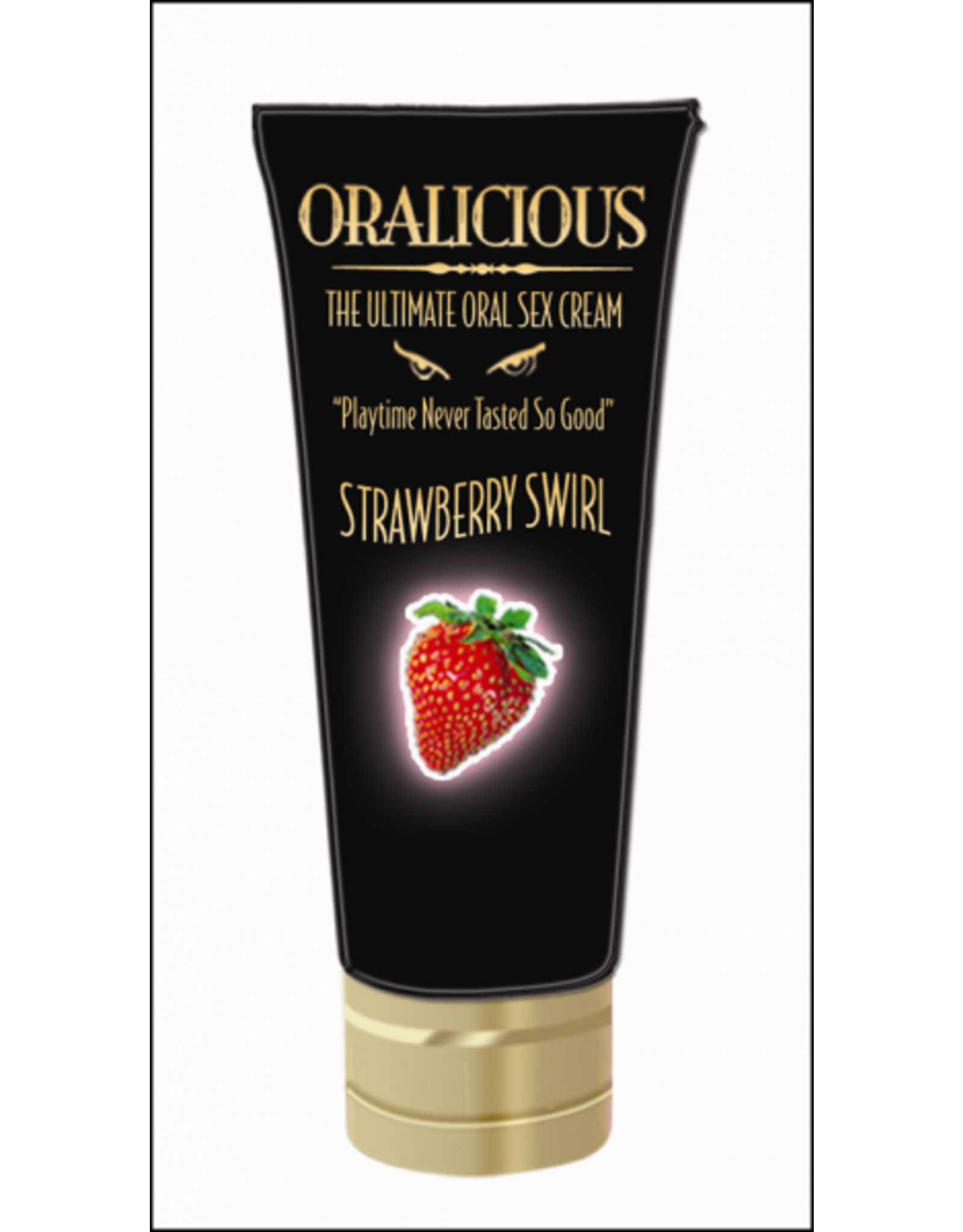 Hott Products Oralicious - Ultimate Oral Sex Cream (Strawberry Swirl)