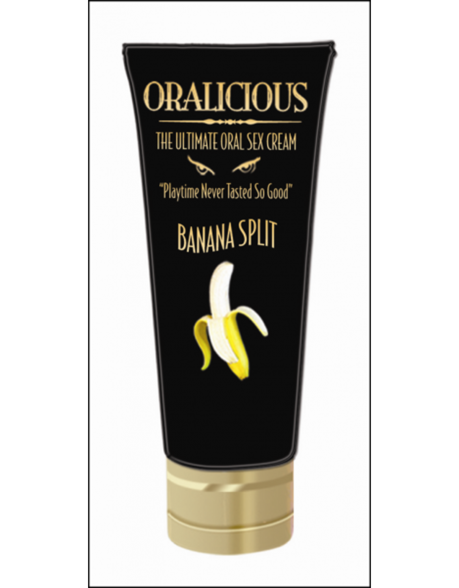 Hott Products Oralicious - Ultimate Oral Sex Cream (Banana Split)