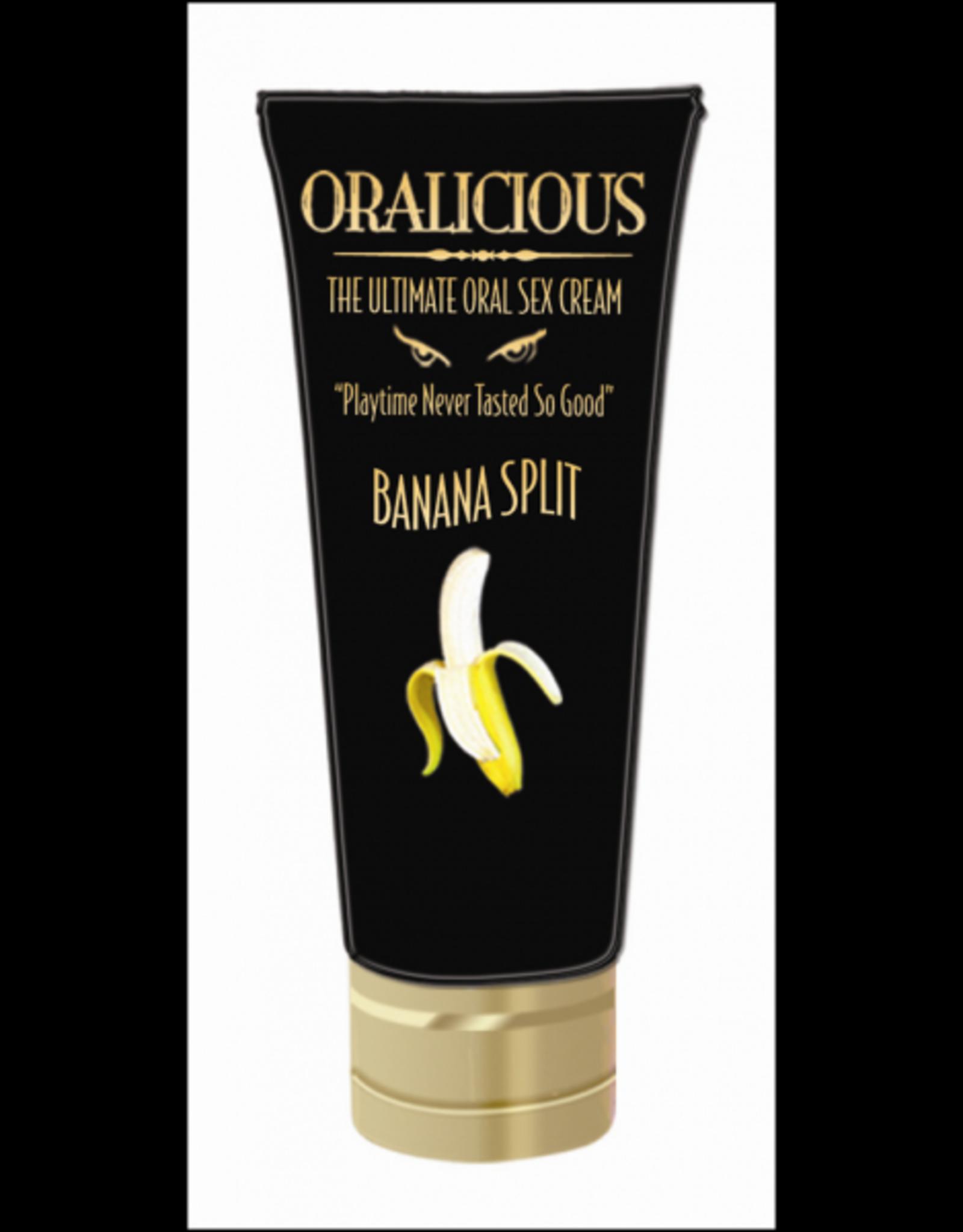Oralicious - Ultimate Oral Sex Cream (Banana Split)
