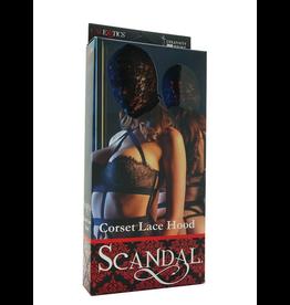 calexotics Scandal Corset Lace Hood