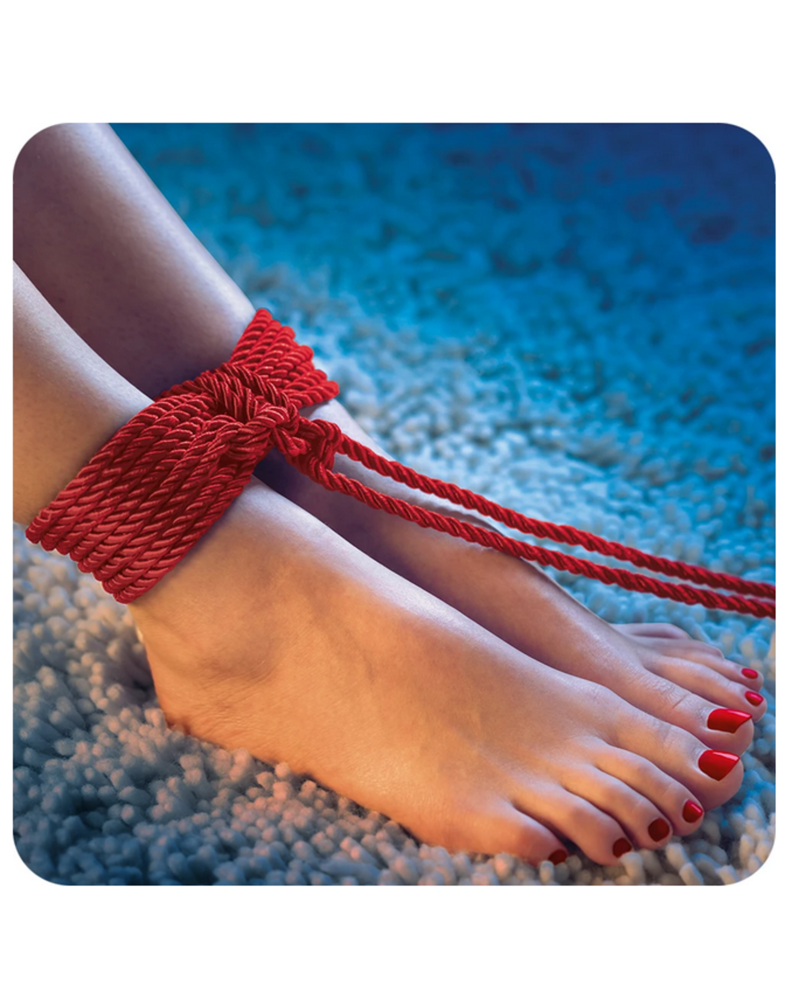 Scandal Scandal BDSM Rope 32.5'/10m in Red