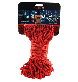 Scandal Scandal BDSM Rope 98.5'/30m  in Red
