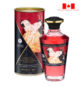 Shunga Shunga Intimate Kisses Aphrodisiac Oil _ Sparkling Strawberry Wine
