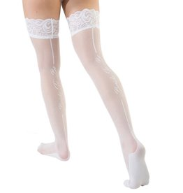 "Coquette Sheer ""Bride To Be"" Thigh High"