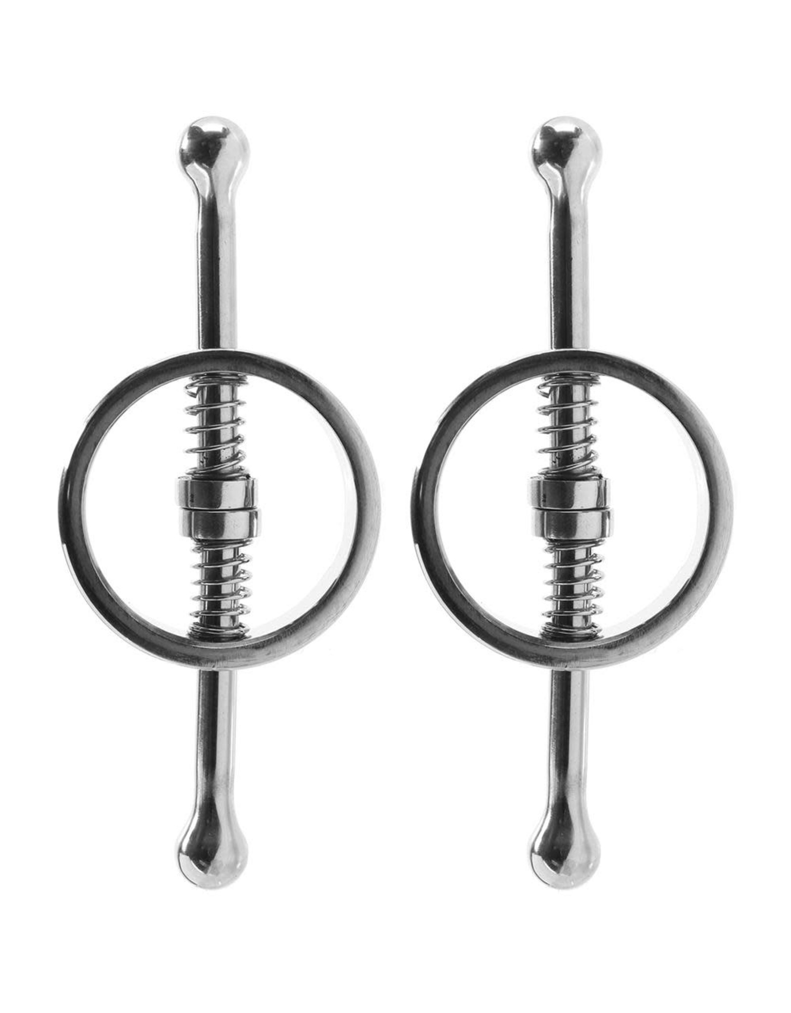 Rouge- Spring Loaded Nipple Clamps- Stainless Steel