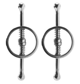 Rouge Rouge- Spring Loaded Nipple Clamps- Stainless Steel