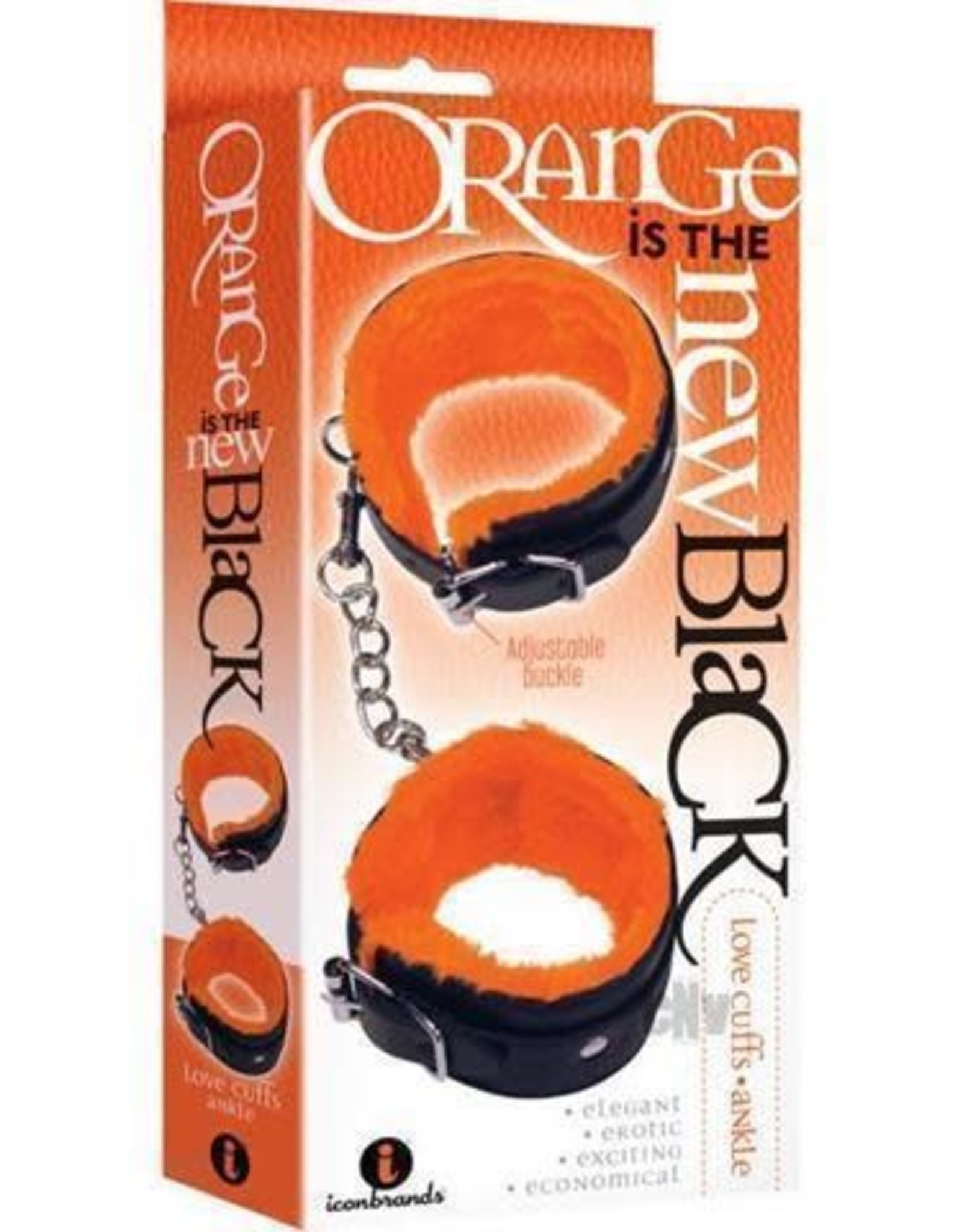 Icon Brands Orange is the New Black- Ankle Love Cuffs