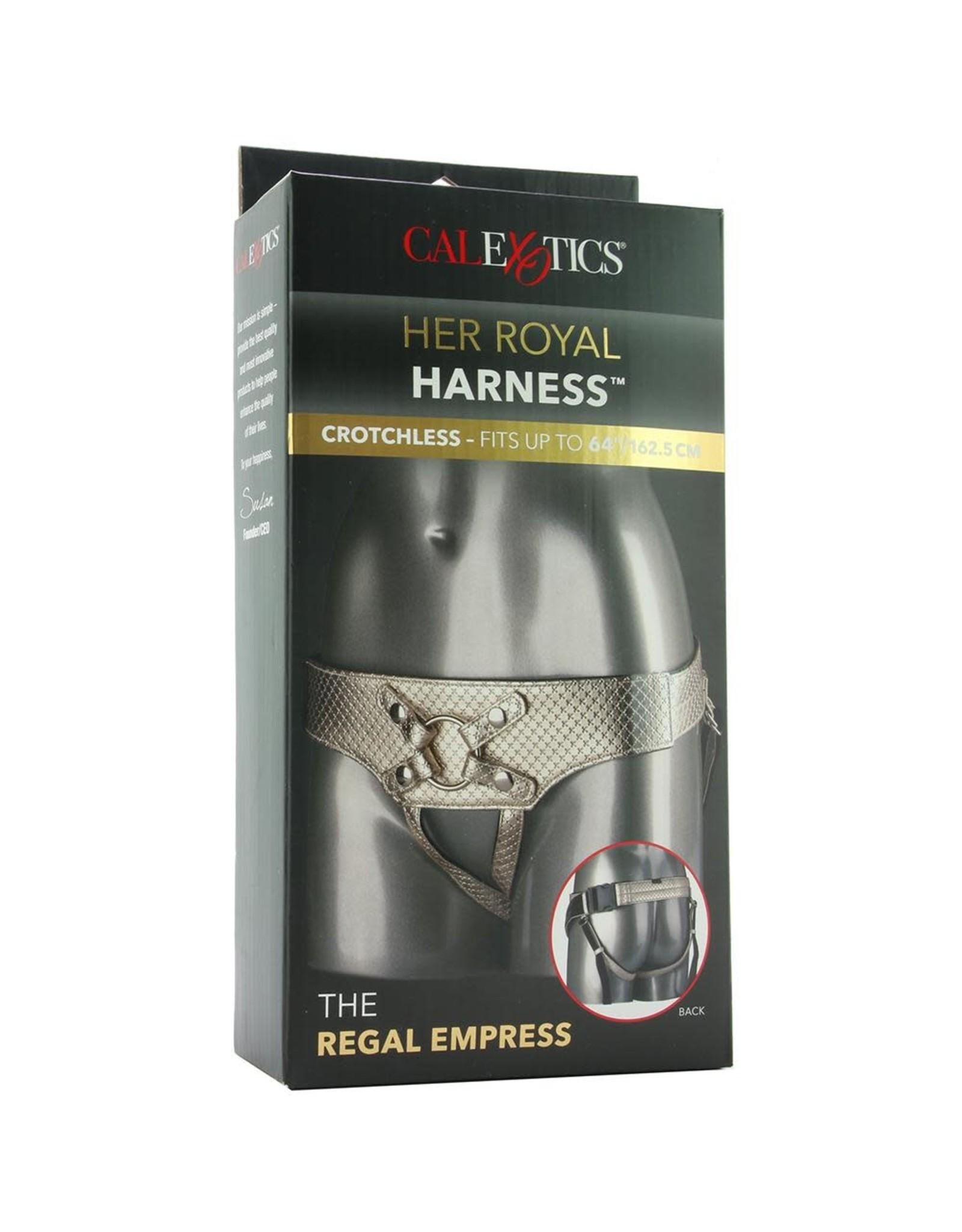 Calexotics Her Royal Harness- The Regal Empress (Gold)