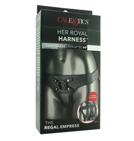 Calexotics Her Royal Harness- The Regal Empress (Pewter)