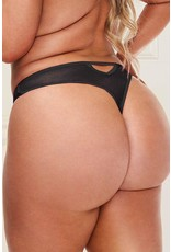 Baci In your Lace Black Panty - 1X/2X
