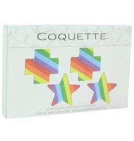 Coquette Rainbow Pasties (2 pack)