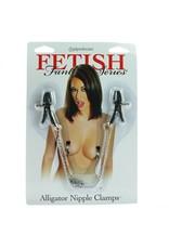 Pipedream Fetish Fantasy Series- Alligator Nipple Clamps