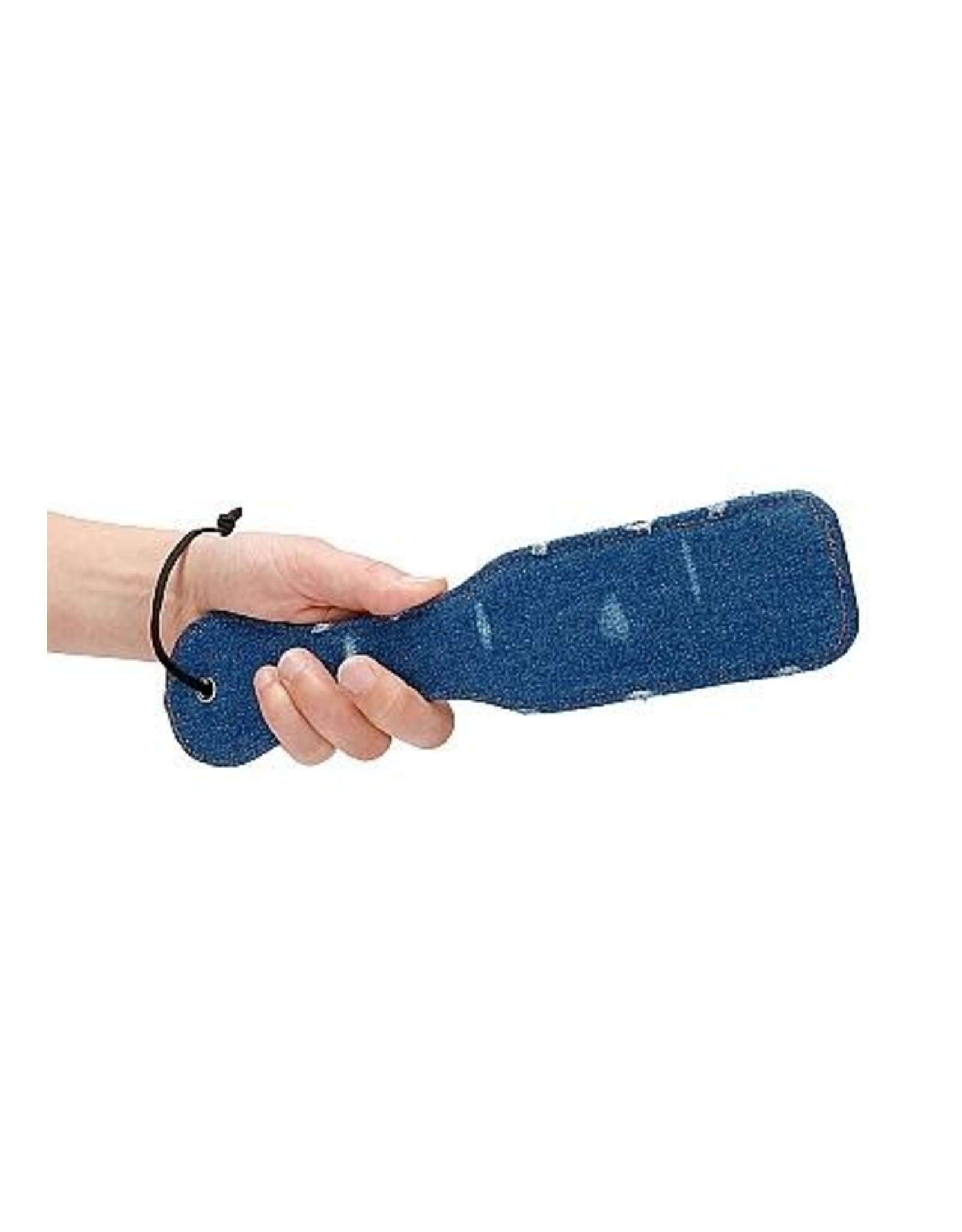 Ouch! Denim Paddle - Roughend Denim Style - Blue