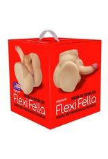 Rapture Flexi Fella Versatile Multi-Position Realistic Cock And Ass