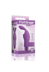 Icon Brands Flirt Finger Bunny in Purple