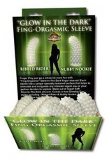 Hott Products Glow-In-The-Dark Fing-Orgasmic Sleeve Assorted 1 Ct
