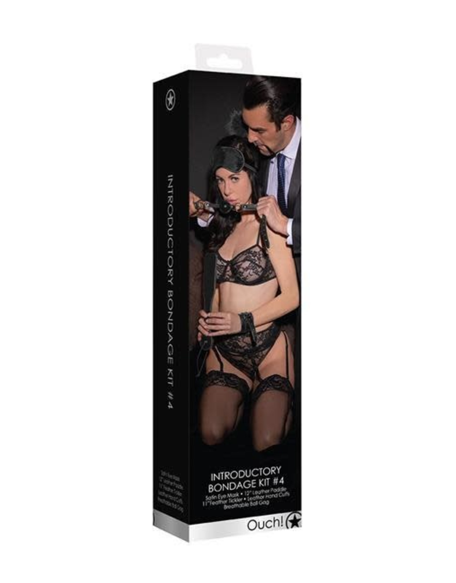 Ouch! Ouch! Introductory Bondage Kit #4  (Black)