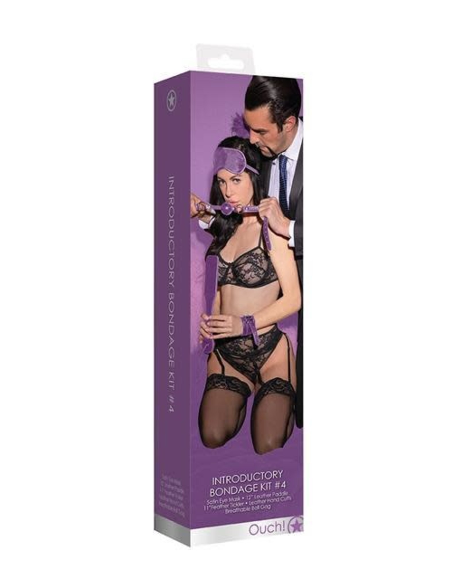 Ouch! Ouch! Introductory Bondage Kit #4 (Purple)