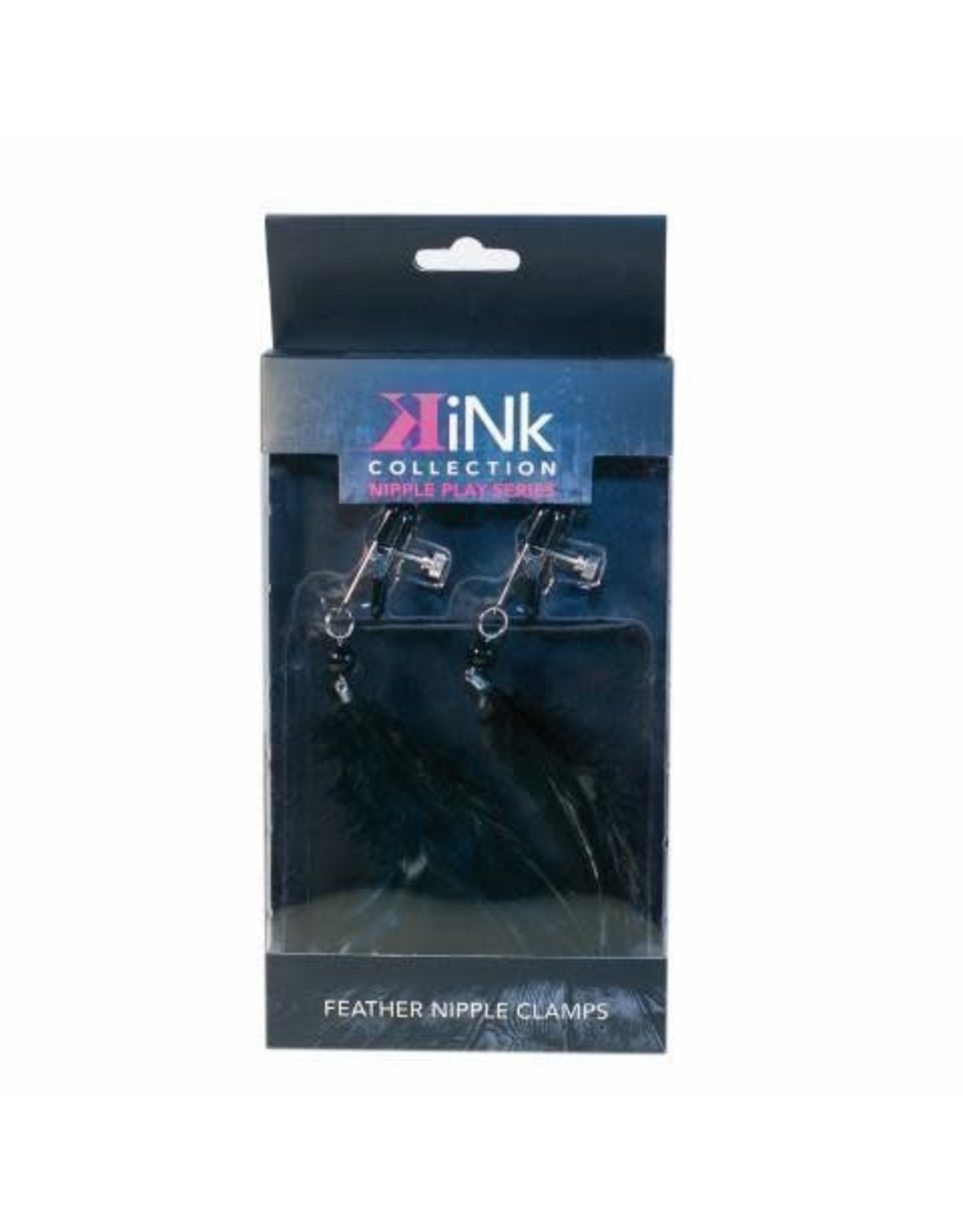 TW Trades Kink - Feather Nipple Clamps in Black