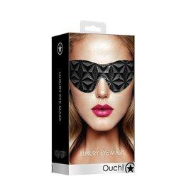 Ouch! Luxury Eye Mask in Black