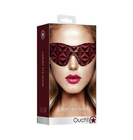 Ouch! Luxury Eye Mask in Burgundy