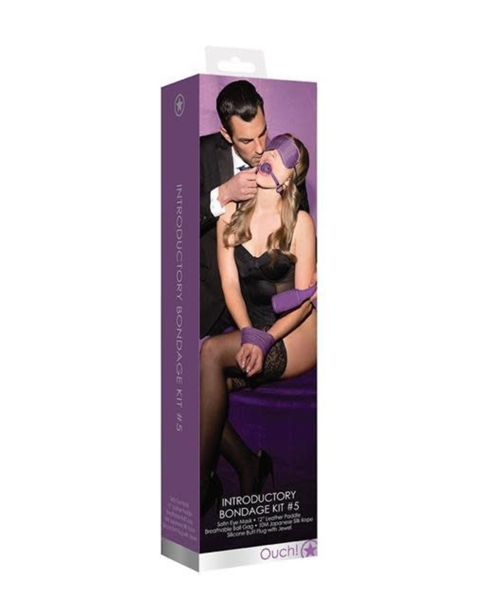 Ouch! Ouch! Introductory Bondage Kit #5 (Purple)