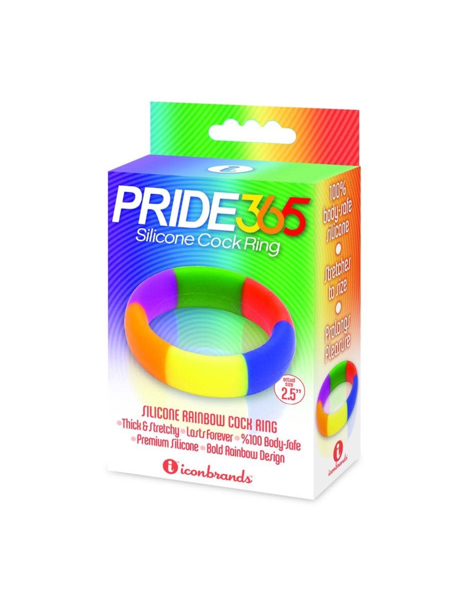 Icon Brands Pride 365 Silicone Cock Ring