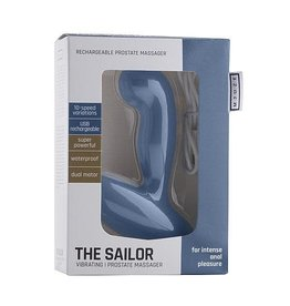The Sailor - Rechargable Prostate Massager in Blue