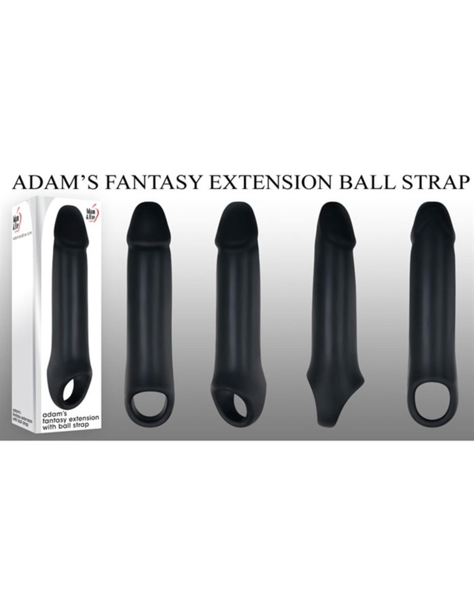 Adam & Eve Adam's Fantasy Extension with Ball Strap