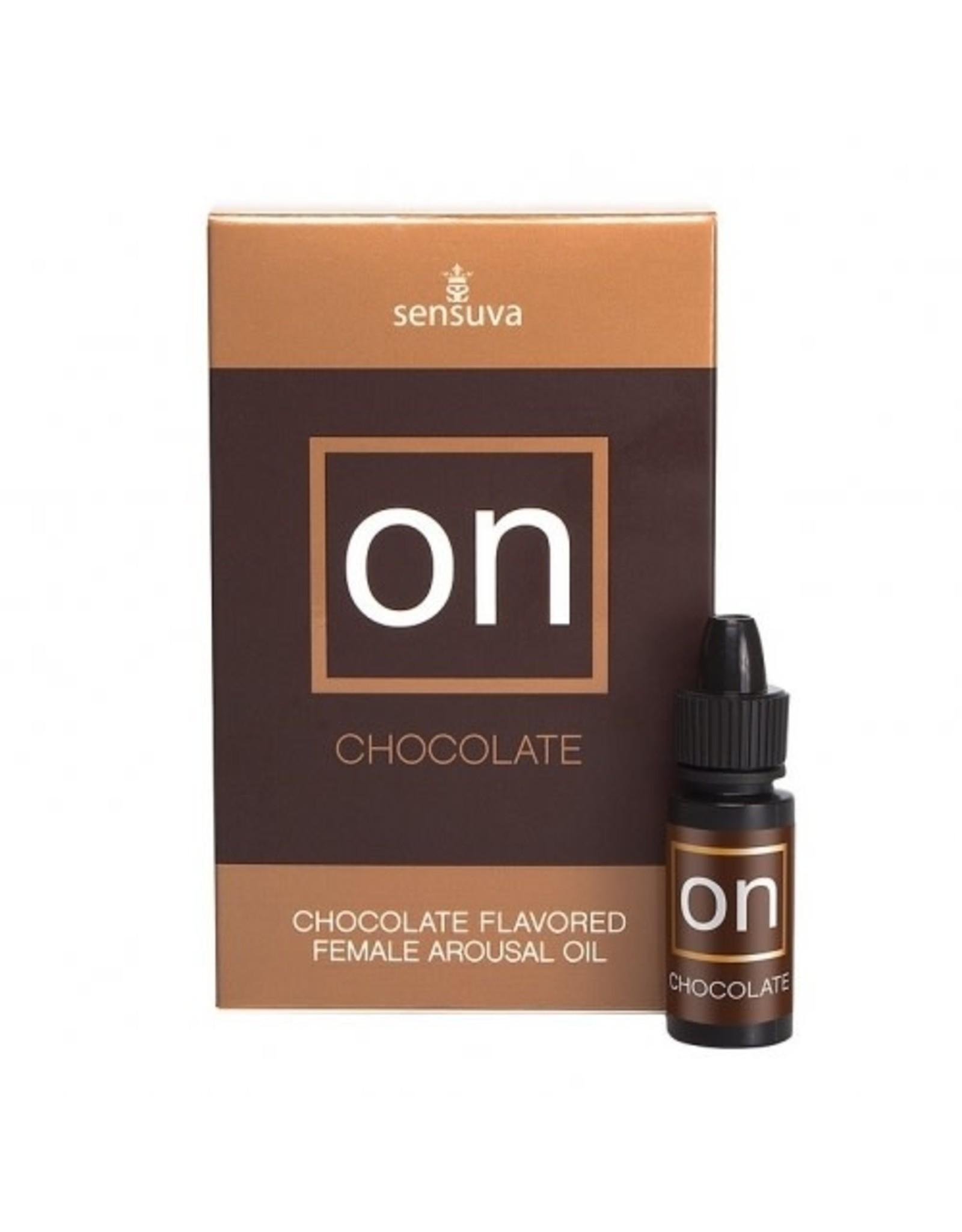 Sensuva ON - Female Arousal Oil- Chocolate -5ml