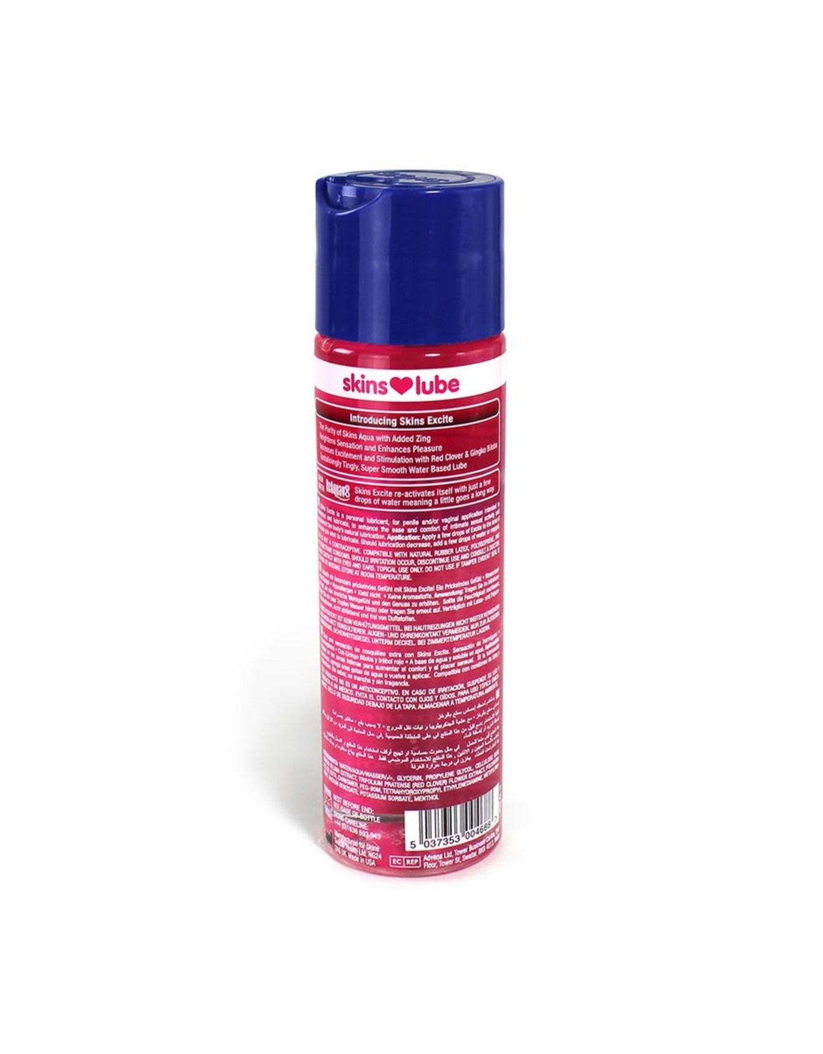 Skins Skins - Excite Tingling Water-based Lubricant - 4 oz