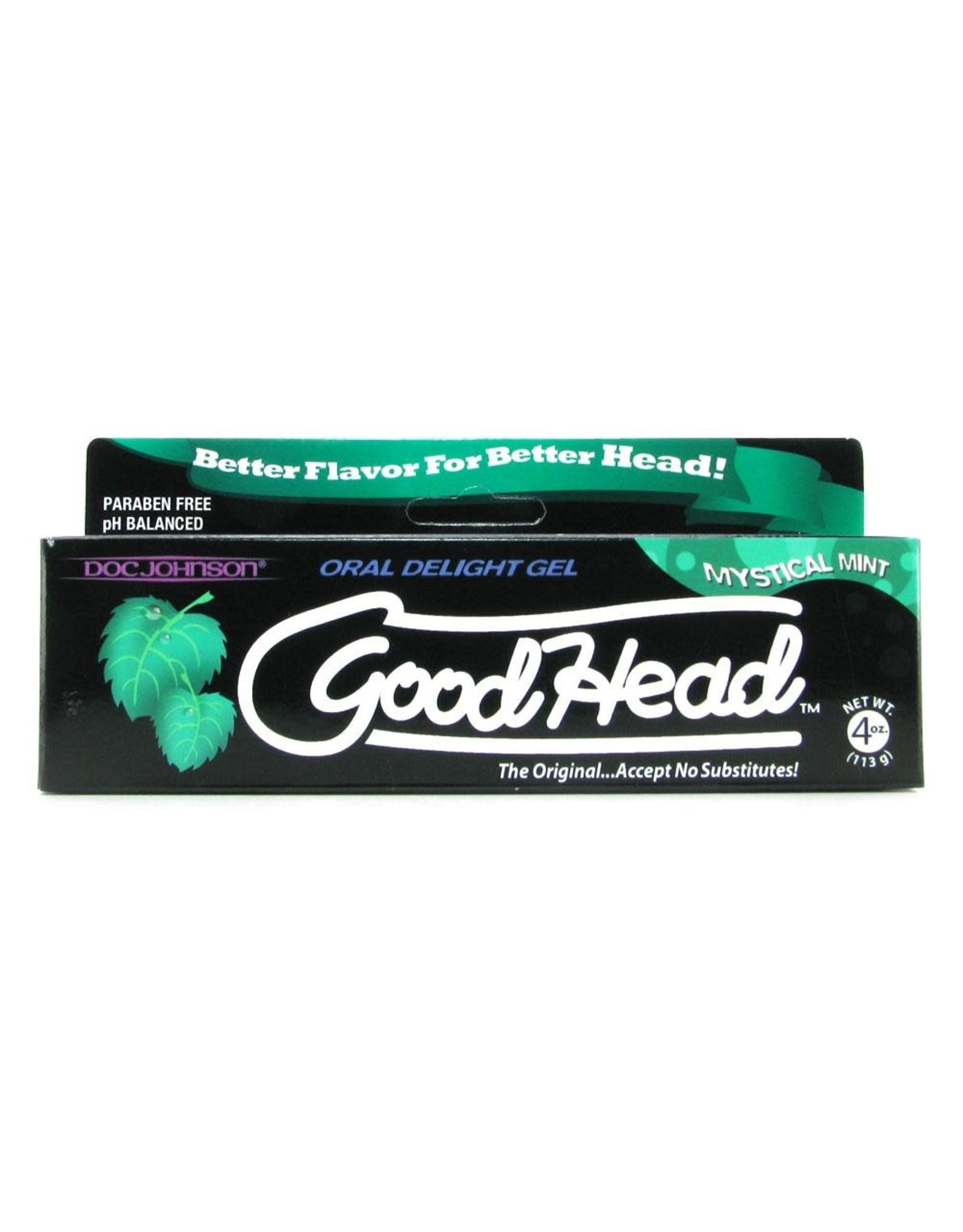 Doc Johnson Good Head - Oral Delight Gel -Mystical Mint - 4 oz