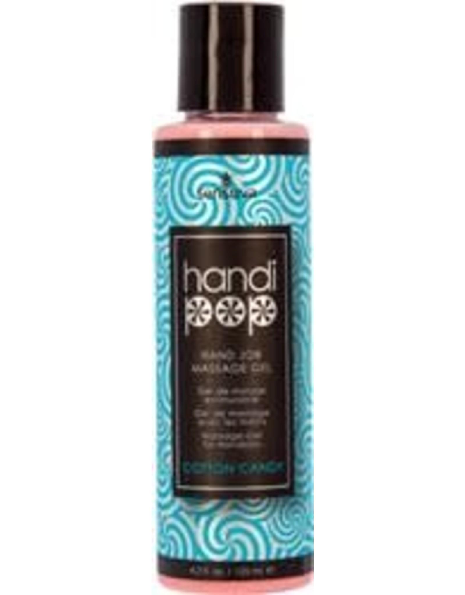 Sensuva Handi Pop -Hand Job Massage Gel - Cotton Candy - 4.2 oz
