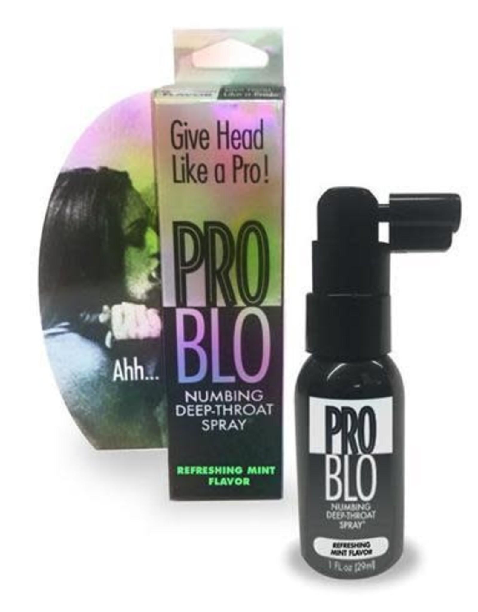 Little Genie ProBlo - Numbing Deep Throat Spray - Mint - 1 oz