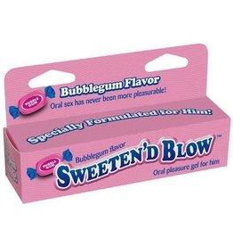Little Genie Sweeten'd Blow - Oral Pleasure Gel - Bubblegum