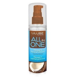 All in One Massage/Lubricant - Coconut - 4.2 oz