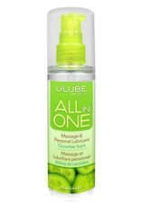 All in One Massage/Lubricant - Cucumber - 4 oz