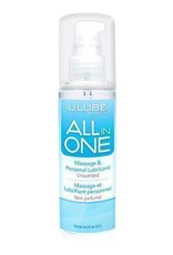 All in One Massage/Lubricant - Unscented - 4 oz
