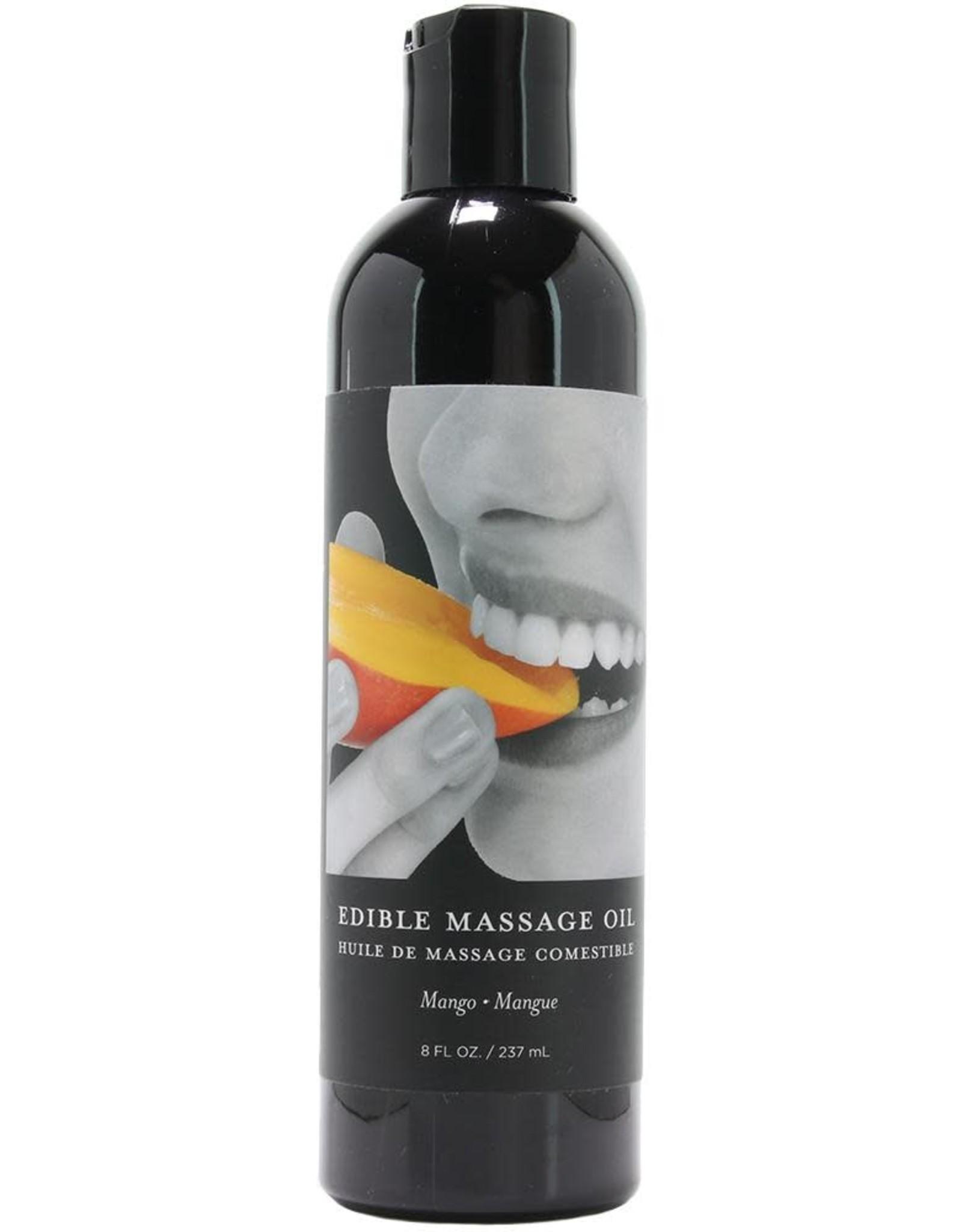 Earthly Body Earthly Body - Edible Massage Oil - Mango - 8oz