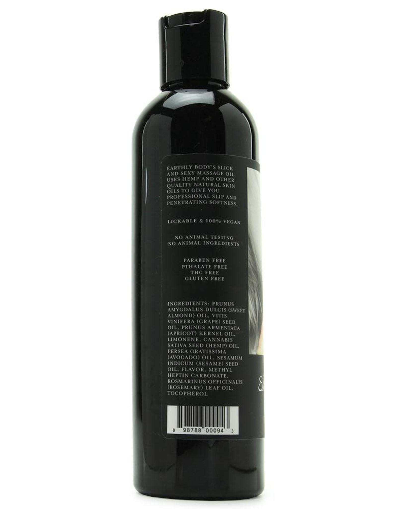 Earthly Body Earthly Body - Edible Massage Oil - Watermelon - 8oz