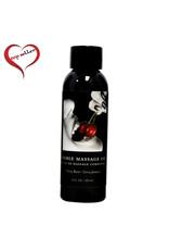 Earthly Body Earthly Body - Edible Massage Oil - Cherry Burst - 2oz