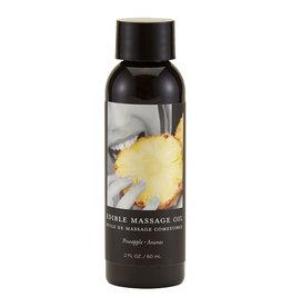 Earthly Body Earthly Body - Edible Massage Oil- Pineapple - 2oz