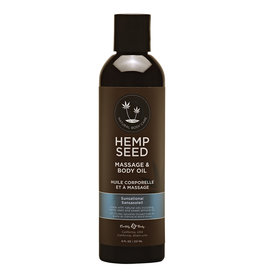 Earthly Body Earthly Body - Hemp Massage Oil - Sunsational - 8 oz