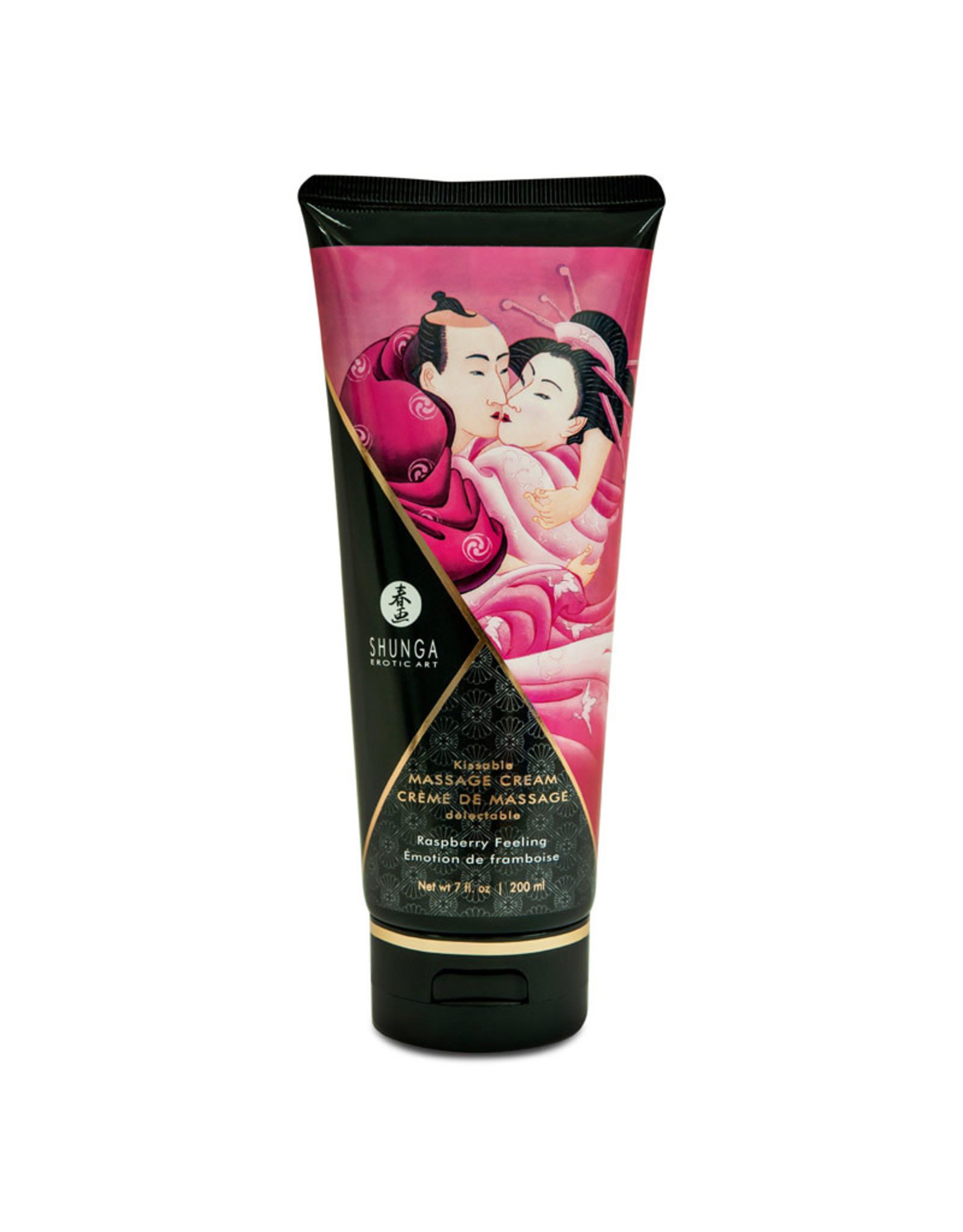 Shunga Shunga - Kissable Massage Cream - Raspberry Feeling