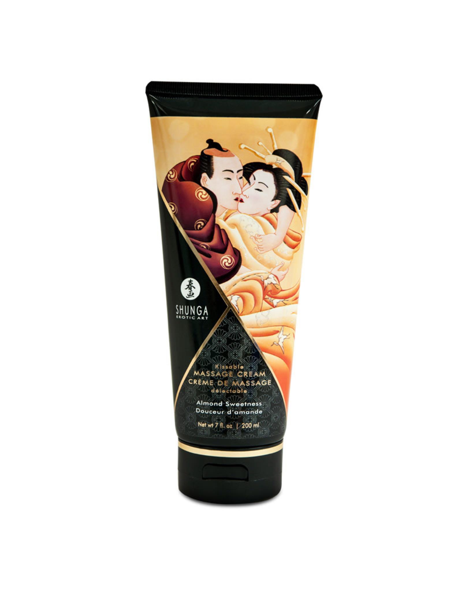 Shunga Shunga - Kissable Massage Cream - Almond Sweetness