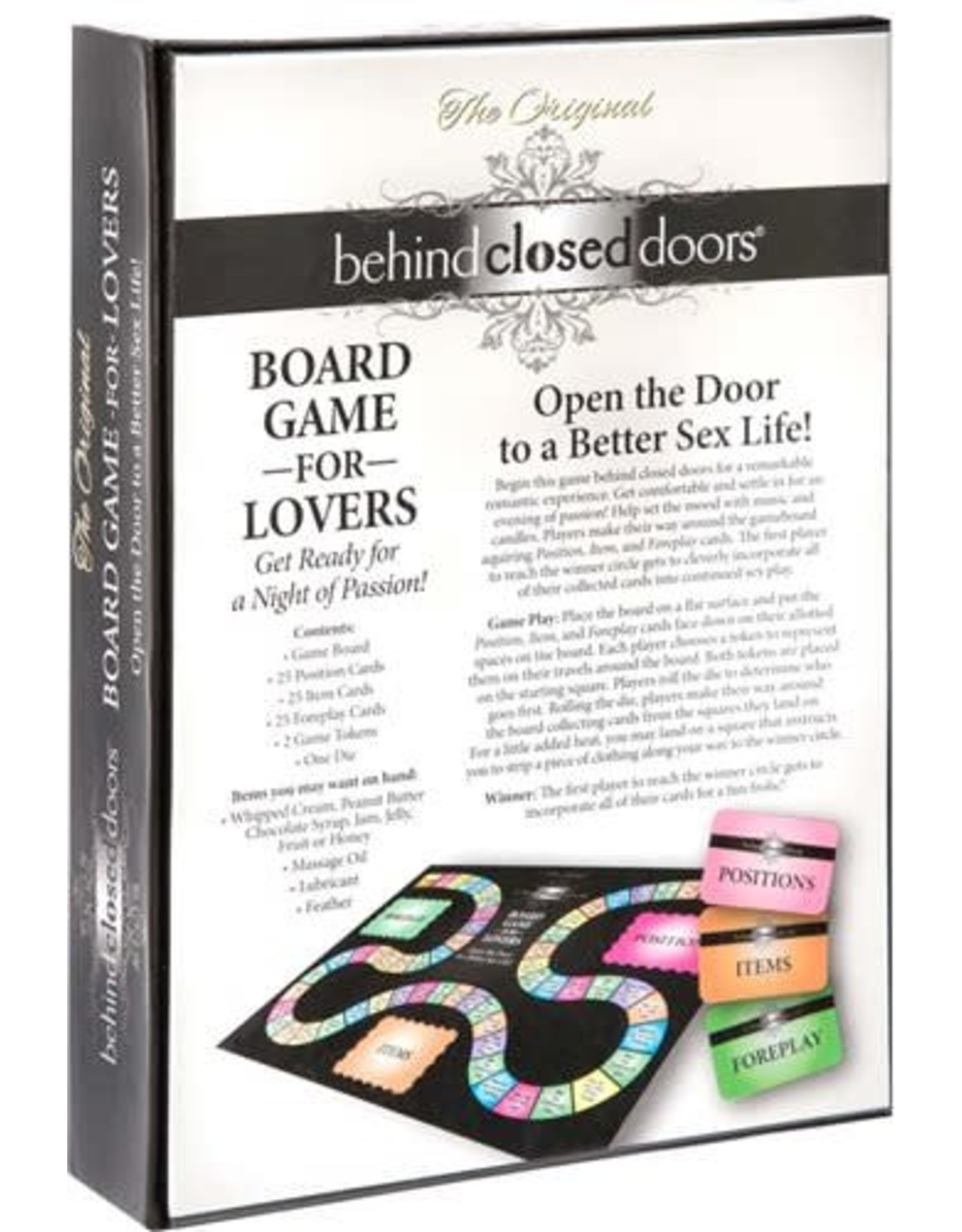 Little Genie Behind Closed Doors - Board Game For Lovers
